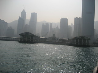 View of Hong Kong from the Star Ferry