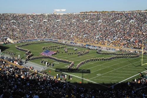 Notre Dame Band, Notre Dame Stadium, University of Notre Dame DDZ_0303