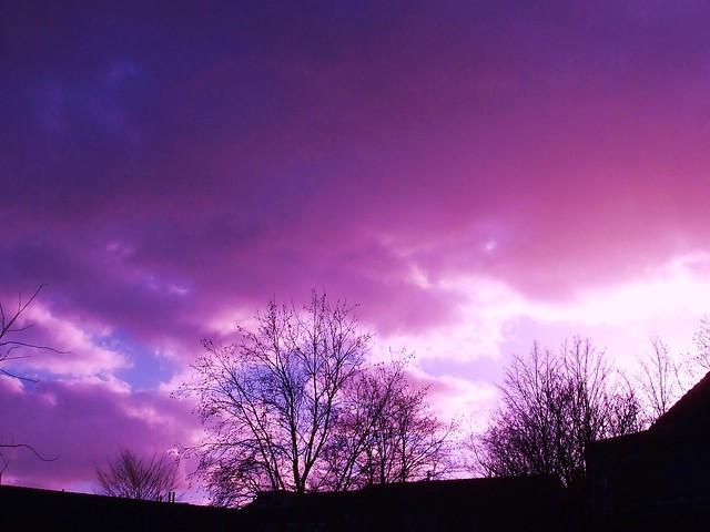 No nice sky, ha, Fujifilm FinePix A920
