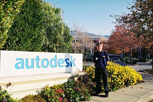 San Francisco - The Autodesk Sign Photo