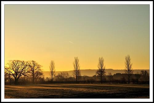 uk england reflection water sunrise river landscape dawn gloucestershire cambidge avision nikond300