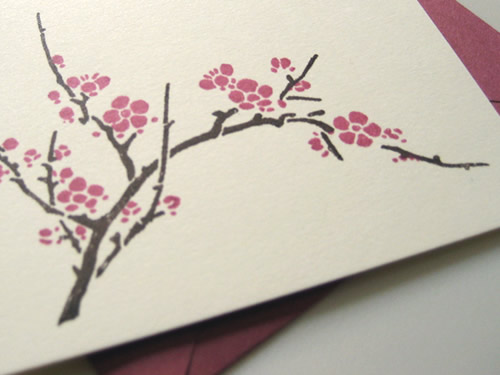 cherry blossom wedding invitation a high school friend is getting married