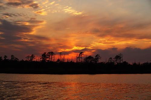 sunset spectacularsunsetsandsunrises cloudsstormssunsetssunrises northcarolina northwestcreek fairfieldharbour sonyphotographing sonya58 sony