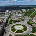 Culture Points the Way - Kite Over Philadelphia Logan Circle by Wind Watcher