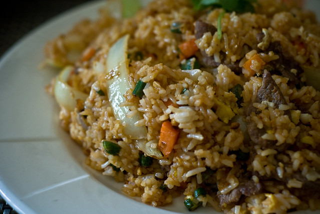 thai fried rice (beef edition) | my selection for lunch. i ...