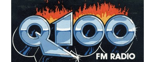 wqqq Q100 FM radio logo