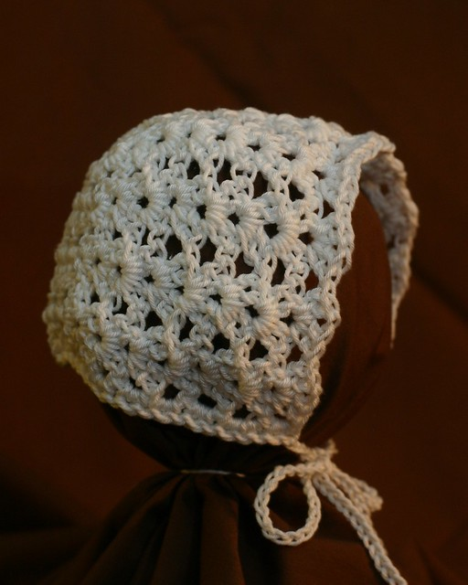 baby bonnet find my free crochet pattern here ...