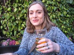 Die Cider Queen im Pear Tree Pub
