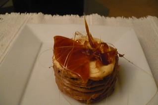 Dobos mini cake