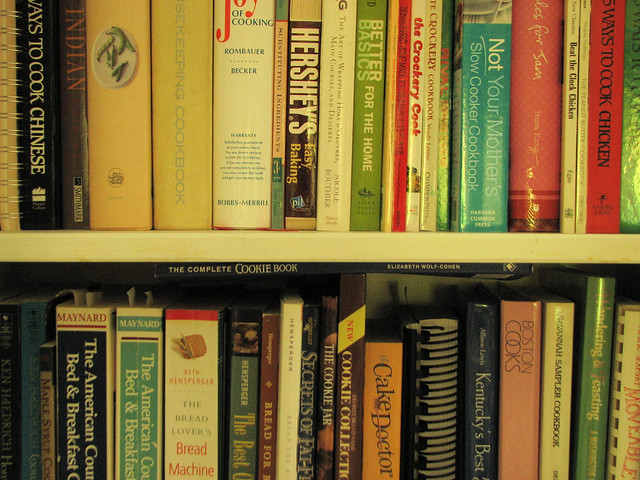Könyvtárnyi szakácskönyv