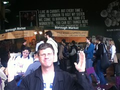 Ron @ Borough Market, London 05.2011