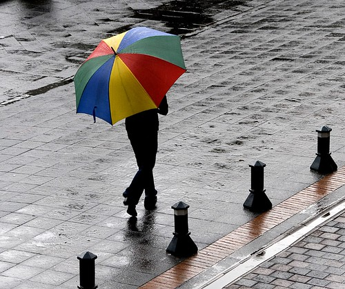 umbrella in Quito by Alida's Photos