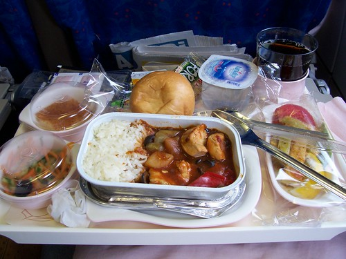 Turkish Airlines economy meal