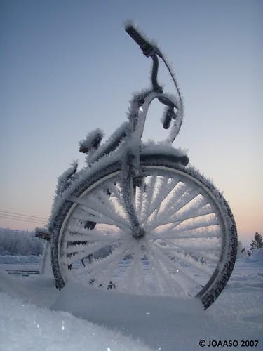 winter snow bicycle norway sunrise frost rim nordnorge snø sykkel kirkenes northnorway flickrexplore sørvaranger 10faves