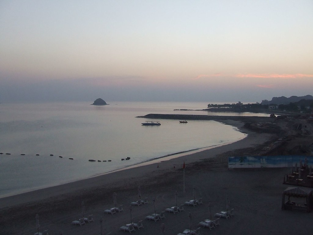 Sunset At JAL Hotel Beach