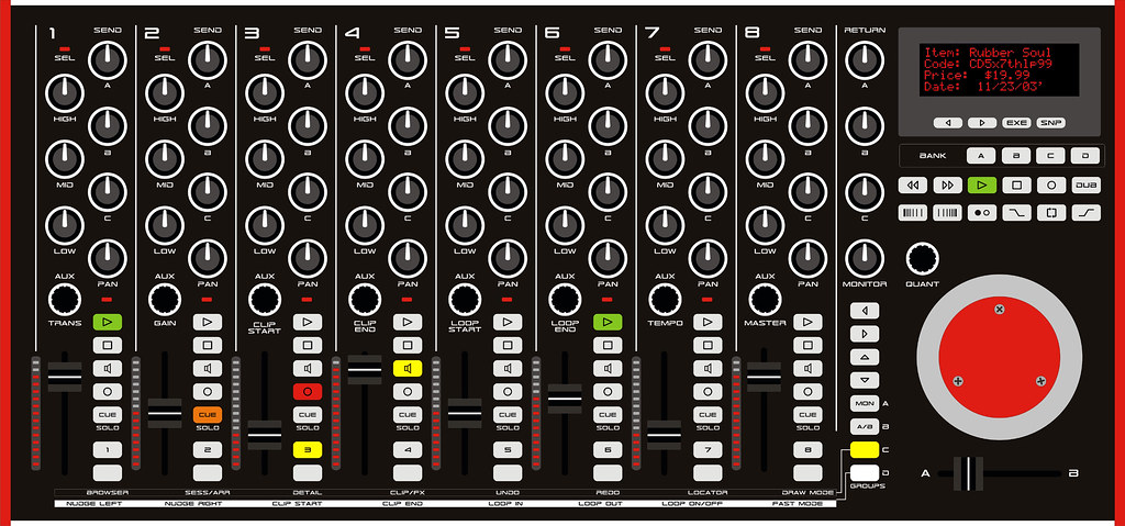 Ableton Live MIDI Controller/Audio Mixer