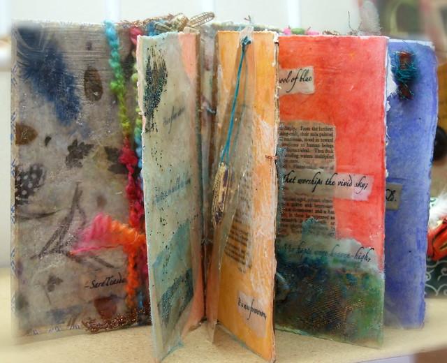 Handmade book/inside    365: day 49