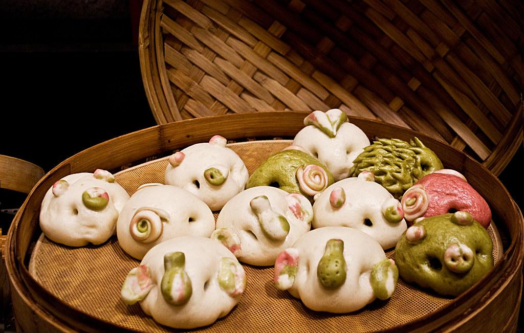 Animal Dumplings Crazy Dumplings Chinese Dumplings Jiaozi Www Twoamericansinchina Com Food Stuffed Mushrooms Vegetables