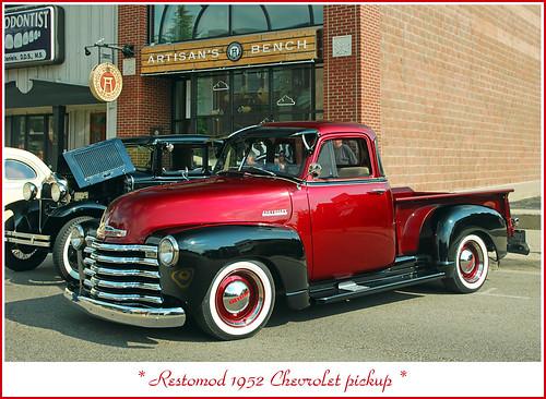 Restomod 1952 Chevrolet pickup