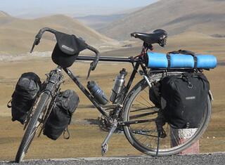 Long Distance Biker