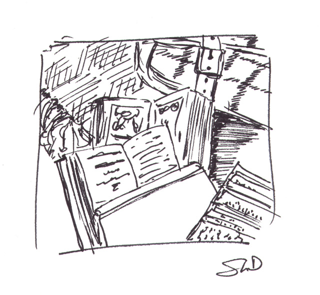 books (60-second drawing)