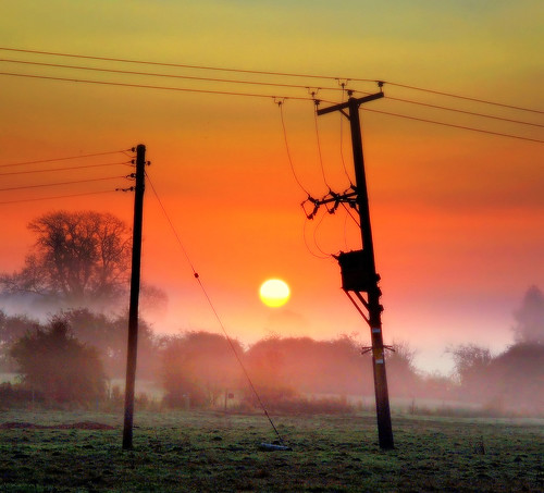 uk england sunrise nottinghamshire eastleach mywinners