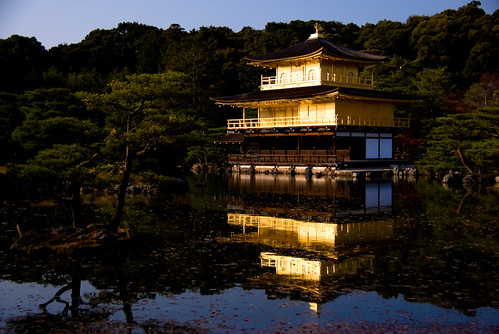 Sightseeing guide - Kyoto Kinkaku-ji (a world heritage)