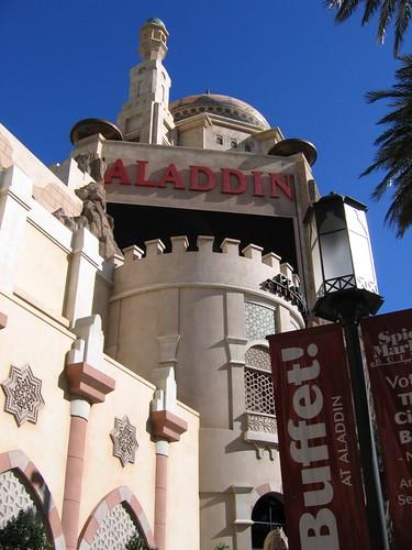 The Aladdin Hotel and Casino