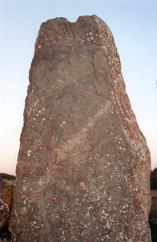 cemetery geotagged sweden scandinavia inscription västergötland runestones slädene