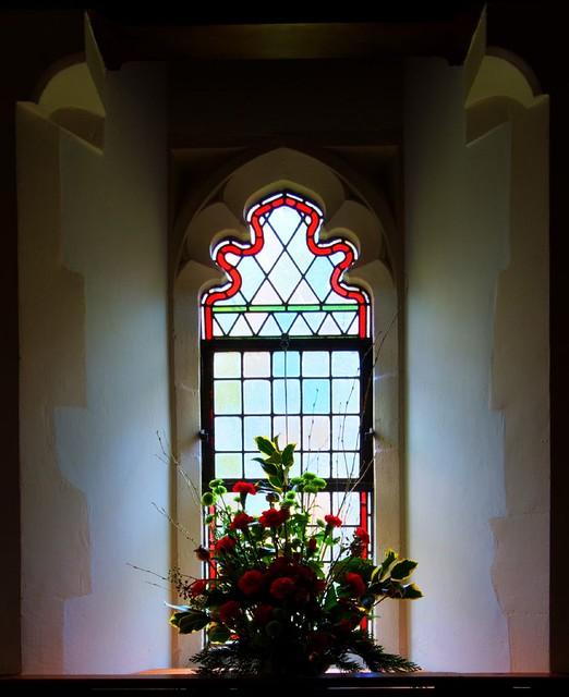 Flower Window Baskets : Flower basket in window flickr photo sharing