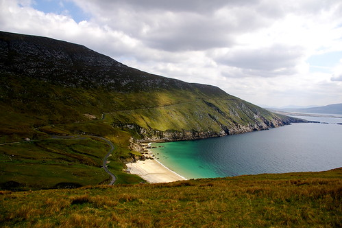 Honeymoon locations: Achill Island, Ireland