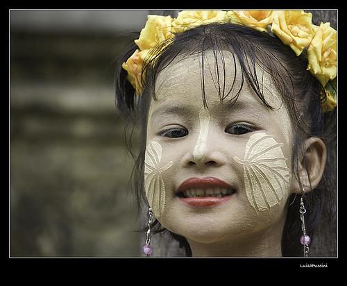 Mandalay, sweet smile