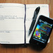Custom Moleskine Planner & iPod touch by Mike Rohde