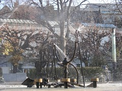 Detail of the Tinguely Fountain