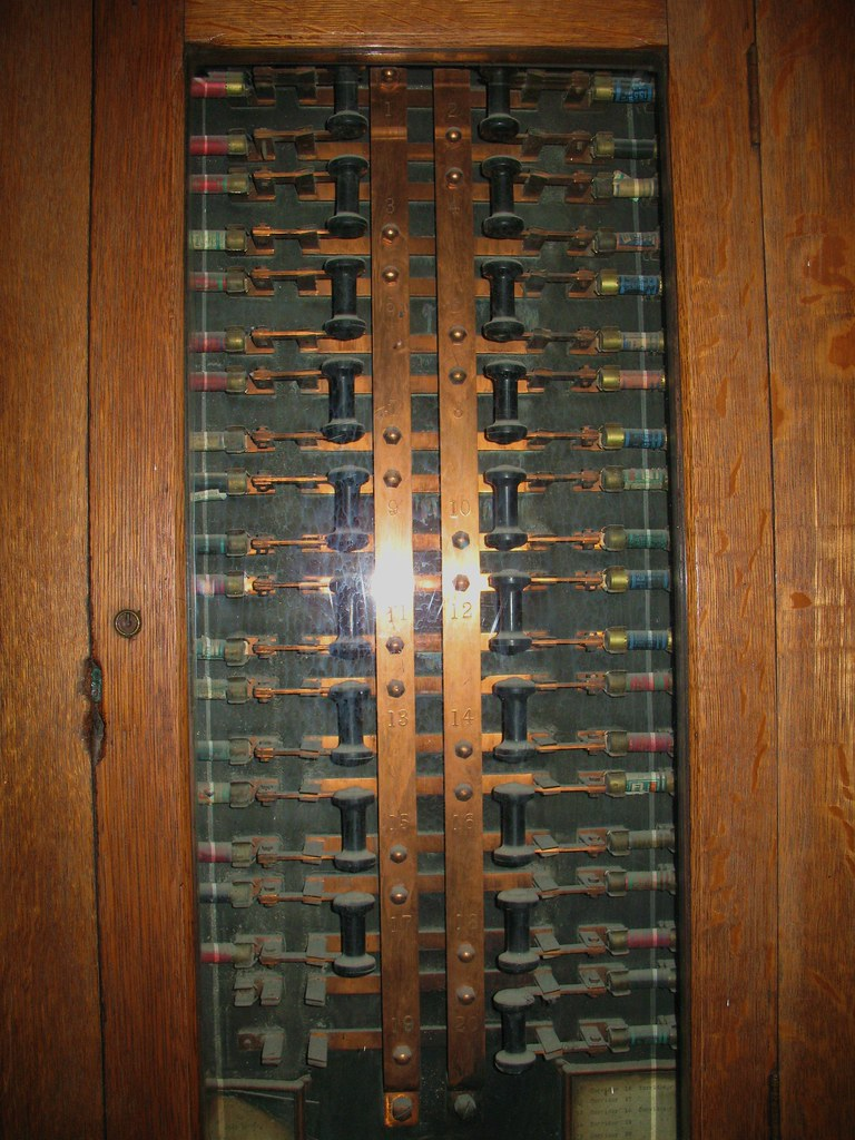old post office fuse box dusty old, possibly original 1890\u2026 flickr