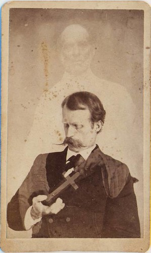 Mumler Spirit Photograph Carte de Visite *with new information about the subject by Photo_History