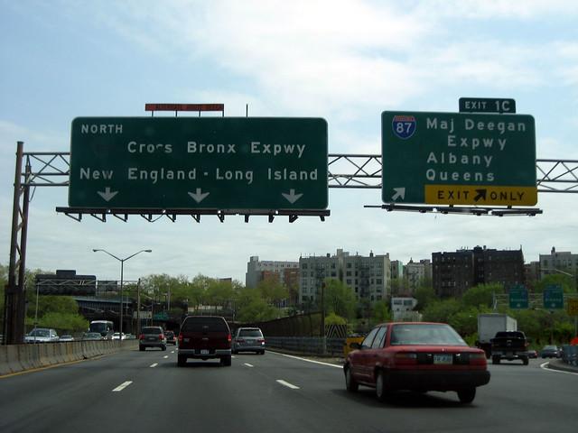 Cross Bronx Expressway Signs – Billy Knight
