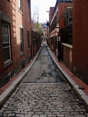 Beacon Hill alleyway