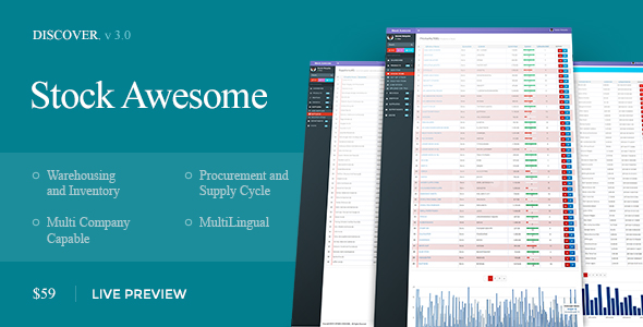 Stock Awesome v3.0.24 - Warehouse Management And Invoicing