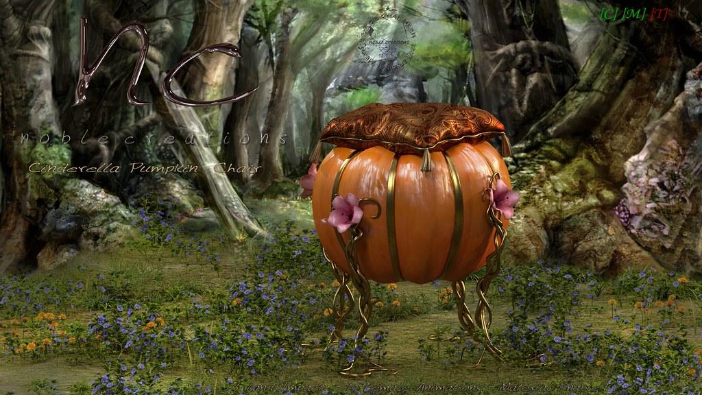 [NC] - Cinderella Pumpkin Chair - 1/2 - SecondLifeHub.com