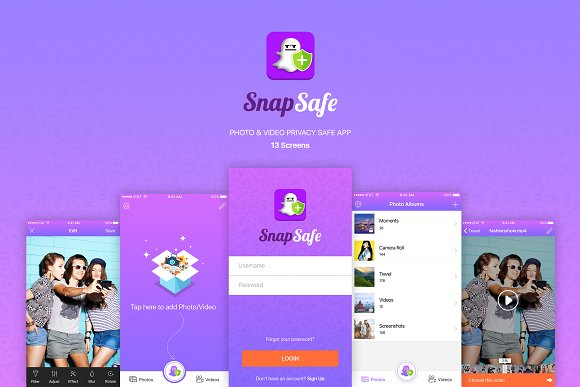 SnapSafe – Photo & Video App