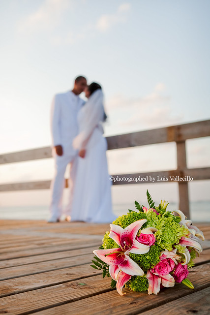 Love by Luis Vallecillo Married at Cassanova Grand Cayman Weddings