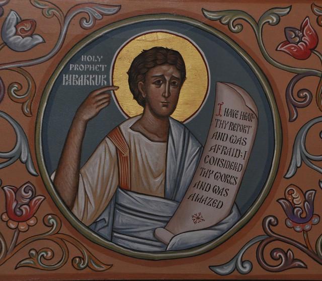 Prophet Habakkuk Icon