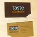 Taste Chocolate business card