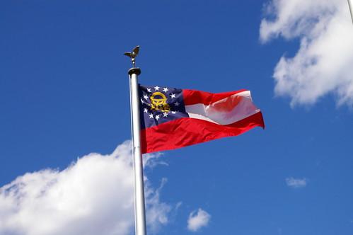 como sao as bandeiras dos estados americanos