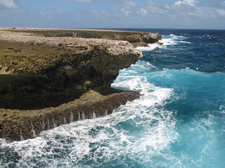 Bonaire's dramatic East coast line