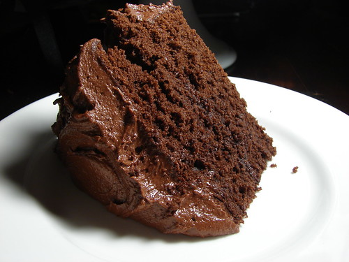 Chocolate Cake Pictures Recipes : TENDER CRUMB: Cocoa Buttermilk Cake