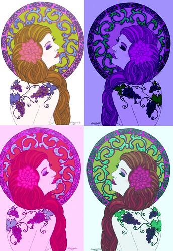grapes tattoo foursquare
