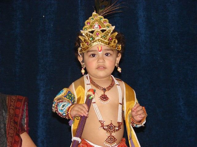 Krishna In Fancy Dress http://www.flickr.com/photos/20925093@N00/1499381336/