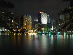Brickell Avenue from Brickell Key